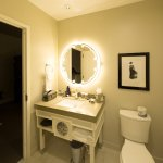 Nice large room bathroom with great shower