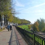 Yaroslavl Embankment Foto