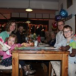 Four generations celebrate Mum's 90th at Cappellos