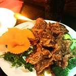 Orange Beef. Delicious!!