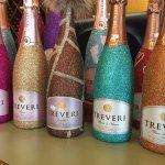 Glittery bottles!