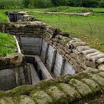 Rebuilt British Trench -- Passchendale Museum