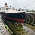 The Nomadic, the last intact White Star Line ship, included in the Titanic Museum tour.