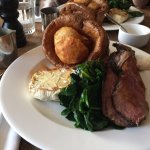 Sunday Roast: Delicious and good value for the quantity & quality at 20GBP