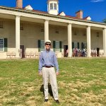 In front of Mt. Vernon