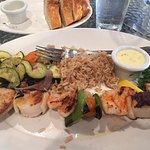 Skewer Combo with Shrimp and Scallops