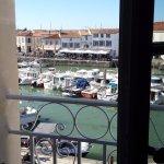 Evangelina room on 2nd floor overlooking the port