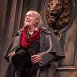 Larry Yando (Ebenezer Scrooge) in A CHRISTMAS CAROL at Goodman Theatre