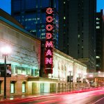 Goodman Theatre and marquee
