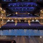 Interior of the 800-seat Albert Theatre
