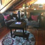 Loft area seating