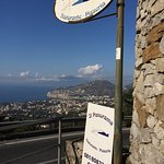 The location. Just look at the view! That's Sorrento down there!