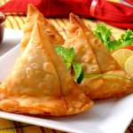 Samosa's available at our Indian Restaurant in Brookfield.