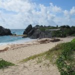 The off-the beaten path beach where we dipped toes in water