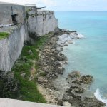 Imposing Fort St. Catherine