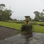 View of Bantry Bay in the rain from the house