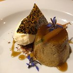 Carrot and ginger pudding