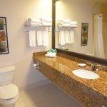 Large Bathroom Counter