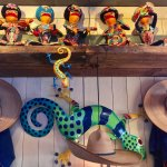 Ceramic Frogs Mariachi Band