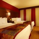 One-Bedroom Queen/Queen Suite Sleeping Area