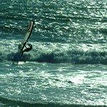 wind surfer at Waddell Beach