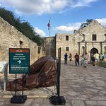 Remember The Alamo! The entrance through the really old church door is an awesome effect into th