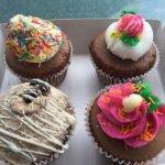 Cupcakes to take home.