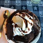 yummy brownie sundae