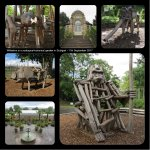 Buildings and Climbing frames at Wihelma