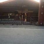 The entrance to the Club Mahindra Resort