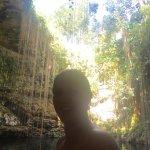Foto van Cenote Ik kil
