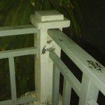 auch an der kl. terrasse mängel