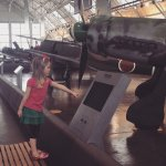Learning in the Flying Heritage Museum!