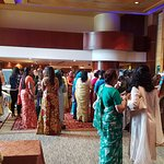 Ladies gathering at Lobby area