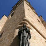 Escultura San Pedro de Alcantara