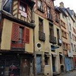 Ruelle du centre hsitorique de Rennes