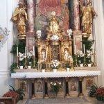 Wallfahrtsaltar in der Basilika St. Michael