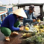 Photo of Cai Rang Floating Market