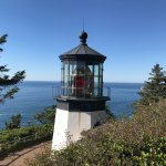 Lighthouse on Cape Meares
