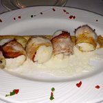 Golden Pines - St Germain - Classic Old Fashioned Wisconsin Supper Club - Bacon Wrapped Scallops