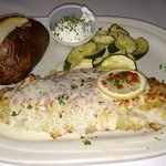 Golden Pines - St Germain - Classic Old Fashioned Wisconsin Supper Club - Encrusted Walleye