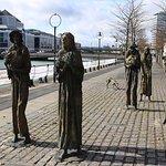 The Famine Sculpture Foto
