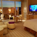 king suite at the Wynn 27th floor