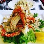 Garlic Roasted Crab