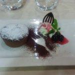 un dolce al cioccolato