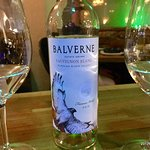 Sauvignon Blanc from Balverne winery at Russian River Valley- an excellent complement to the foo