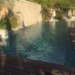 beautiful pool overlooking the ocean