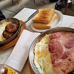 Eggs and Sausage and Ham and Eggs