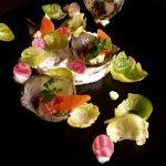 Déclinaison de légumes en salade printanière