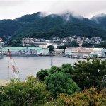 長崎の港。